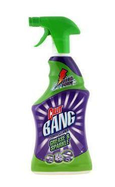 Riebalų valiklis CILLIT BANG Grease & Smudges, 750 ml