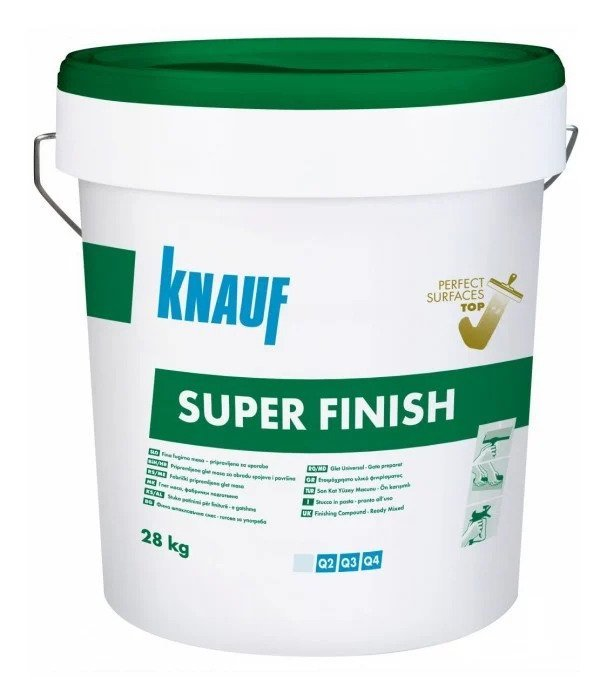 Glaistas KNAUF SUPER FINISH, 28 kg