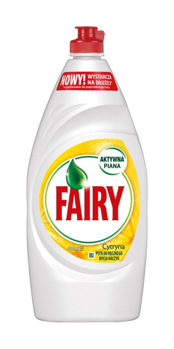Indų ploviklis FAIRY Lemon, 900 ml