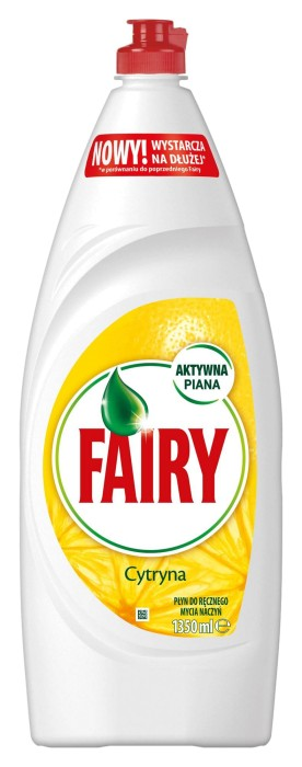 Indų ploviklis FAIRY Lemon, 1350 ml